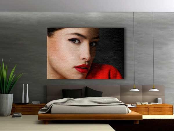 Personalizza la tua camera da letto con una stampa su tela con le ...