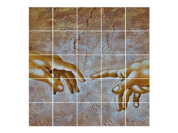 Mosaico in ceramica foto canvas.com